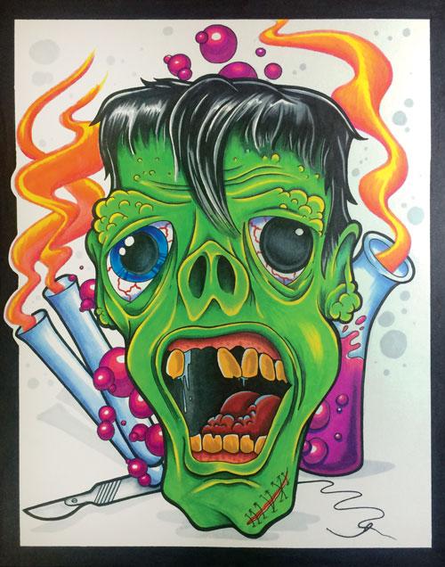 11″ x 14″ Ghoul Print