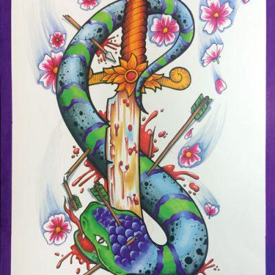 Aaron-Broke-Snake-Dagger