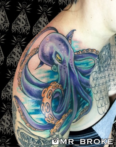 Octopus Shoulder
